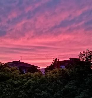 Il tramonto da celadina