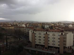Firenze nel primo pomeriggio di domenica