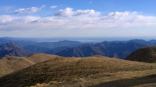 panoramica monti e lago Garda