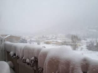 Meteo L Aquila: piogge sabato, neve domenica, molte nubi lunedì