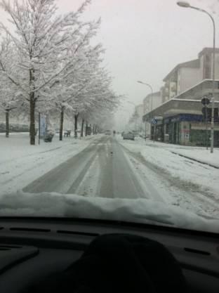 Meteo Rieti: neve fino a lunedì, bel tempo martedì