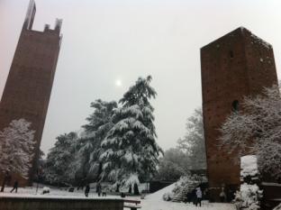 Meteo Rovigo: neve domenica, discreto lunedì, bel tempo martedì