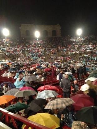 Meteo Verona: piogge fino a venerdì, molte nubi sabato