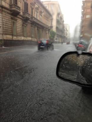 Meteo Catania: piogge venerdì, molte nubi nel weekend