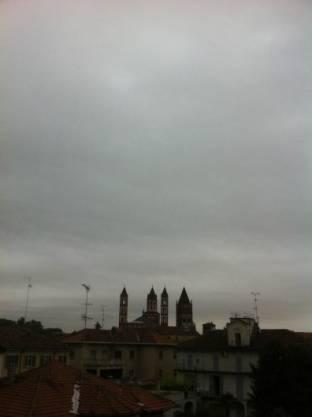 Meteo Vercelli: piogge venerdì, qualche possibile rovescio nel weekend