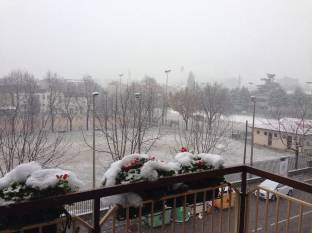 Meteo Verona: neve domenica, discreto lunedì, bel tempo martedì