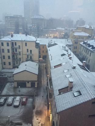 Meteo Padova: neve lunedì, discreto martedì, variabile mercoledì