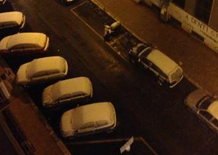 Neve In Centro A Taranto