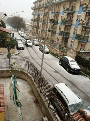 Neve a Palermo
