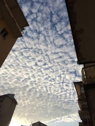 Cielo Ovattato 16 Gennaio