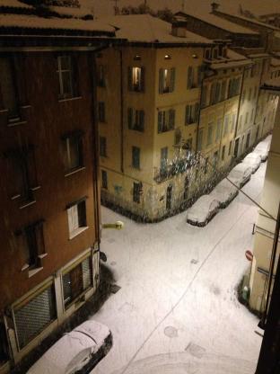 Nevica - Brescia Centro