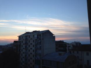 Vercelli At The Sunset