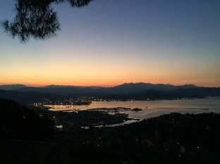 Alba a La Spezia