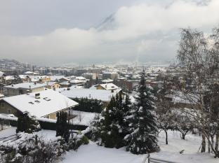 Aosta Dopo La Nevicata