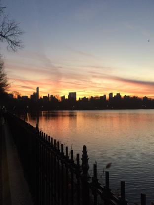 Tramonto a Central Park