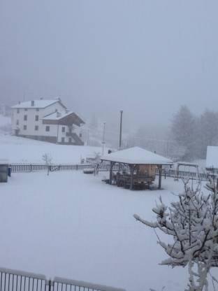 Nevicata A Montesover