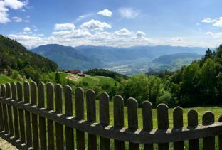 Sole - Veduta su Bolzano