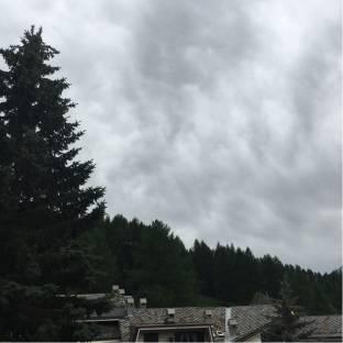 Nuvoloso ma non piove in sauze d'oulx granvillar