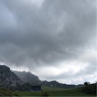 Nuvoloni ai piani di bobbio
