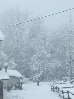 Mondovi temporale di neve
