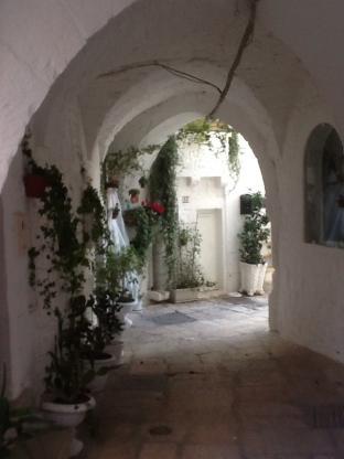 Centro storico a cisternino