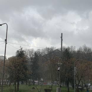 Rovesci di pioggia e grandine