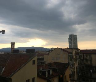 Possibili temporali a Torino
