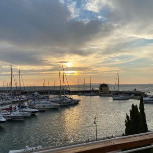 Sunset - baia di Scarlino -