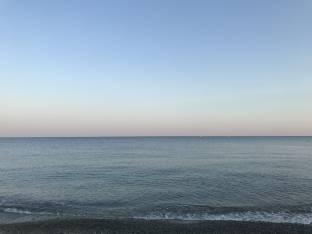 Albissola marina - lestate di settembre dai bagni colombo