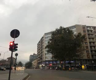 Pioggia su Torino