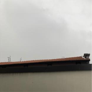 Nuvole grigie in barona
