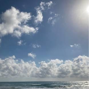 Direzione mare il meteo sbaglia... ce' il sole