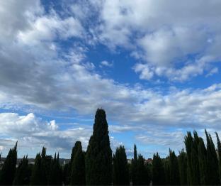 Borino nuvole sparse