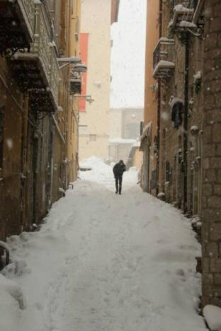 Neve a Potenza Febbraio2012