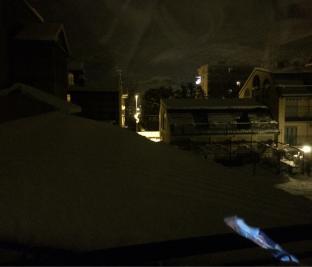 Susa neve in atto