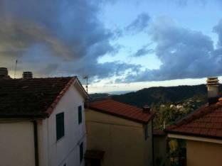 golfo di Spezia vista Follo Alto ore8