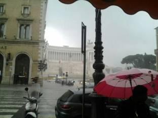 Meteo Roma: piogge giovedì, qualche possibile rovescio venerdì, bel tempo sabato