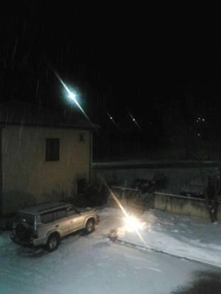 scende la neve