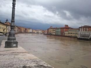 Meteo Pisa: qualche possibile rovescio sabato, bel tempo domenica, discreto lunedì