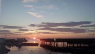tramonto sui Pejani