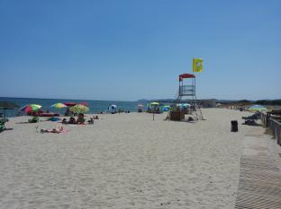 spiaggia a Posada Nu