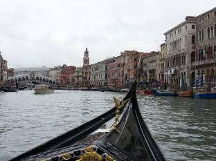 In gondola sul Canal Grande