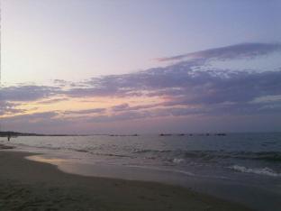Campomarino al tramonto