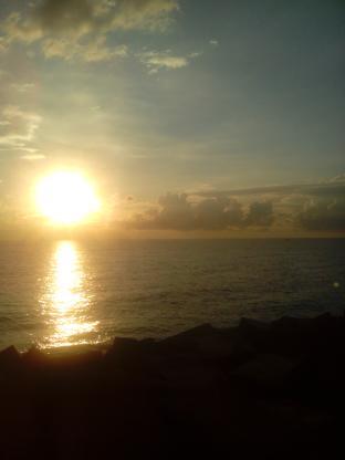 alba al porto di catania