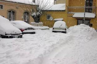 grande nevicata a ruoti