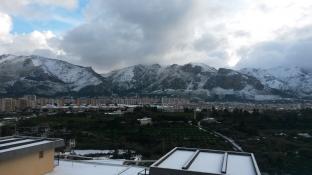 La neve a Palermo