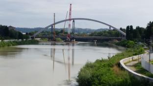 passeggiata sul ponte tiziano