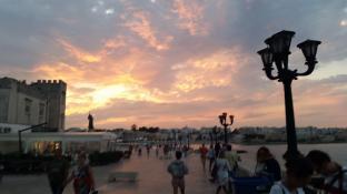 tramonto tempestoso ma bellissimo