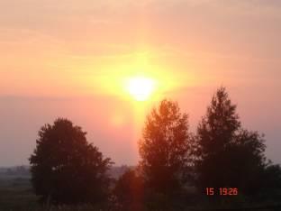 tramonto a Suzdal