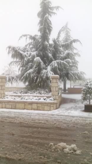 neve di primavera a S.Giacomo